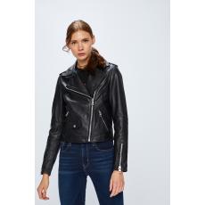 Calvin Klein Jeans - Rövid bőrkabát - fekete - 1341696-fekete
