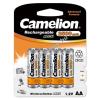 Camelion akku típus HR6 Mignon AA (ceruzaakku típus) 2500mAh 4db/csom.