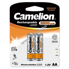 Camelion akku típus LR6 (ceruzaakku típus) 2500mAh 2db/csom. tölthető elem