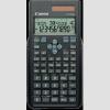 Canon F-715SG Zöld tudományos számológép, fekete