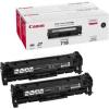 Canon Fekete tonerkazetta MF83x, MF8540/8550/8580, 6.800 oldal, dupla csomag (2662B005)