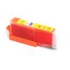 Canon nyomtatóhoz CLI-551XL (cli551) Y sárga utángyártott chipes tintapatron (kb.≈660 oldal)
