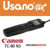 Canon TC-80N3 megfelelője az Usano URC-0020C3