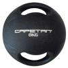 Capetan® 8Kg Professional Line Dual Grip kétfogantyús gumi medicinlabda (vízen úszó) - 8Kg Cross Tra