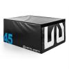 Capital Sports CAPITAL SPORTS Rookso Soft Jump box, plyo box / plyometrikus doboz, 45 cm, fekete