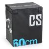Capital Sports CAPITAL SPORTS Rooksy Soft Jump Box, Plyo Box, 60x50x30 cm, fekete