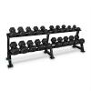 Capital Sports Dumbbell Rack Set, súlyzó állvány, készlet, 20 hely, 10 x pár súlyzó