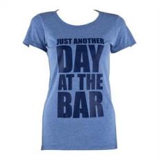 Capital Sports női edző póló, L méret, kék tricolor