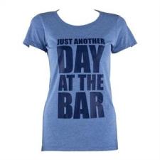 Capital Sports női edző póló, M méret, kék tricolor női póló