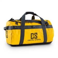 Capital Sports Travel M, utazótáska, hátizsák, 60 l, kocsi, vízlepergető, sárga hátizsák
