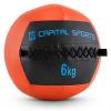 Capital Sports Wallba 6, narancssárga, 6 kg, wall ball, műbőr