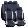 CARGUARD Autós üléshuzat szett - szürke / fekete - 9 db-os - HSA005 (Autós üléshuzat szett)