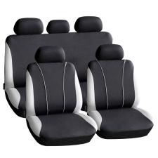 CARGUARD HSA003 9db-os autós üléshuzat szett - szürke-fekete (55670GY) ülésbetét, üléshuzat