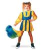 Carneval Cheerleader ruha sárga/kék (152-es méret) - CARNEVAL 11237