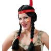 Carneval Indián lány paróka - CARNEVAL 35433