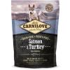 Carnilove Puppy Lazac-Pulyka 1.5kg