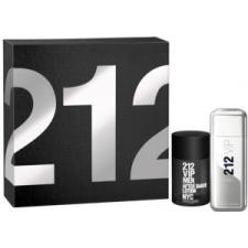 Carolina Herrera 212 VIP Men Szett 100+100 Szett 100+100 Férfi kozmetikai ajándékcsomag