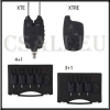 Carp Spirit Elektromos kapásjelző szett XTE 4+ 1 (ACS490027)