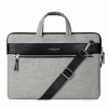 """Cartinoe stílusos táska cipzárral Apple MacBook Air / Pro 13"""" készülékre - szürke"""