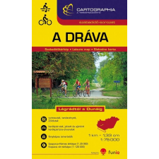 Cartographia Dráva vízisport és kerékpáros térkép - Cartographia térkép