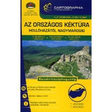 Cartographia Kft. Az országos Kéktúra Hollóházától Nagymarosig térkép