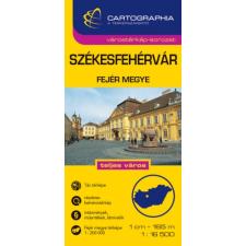 CARTOGRAPHIA KFT / BIZO. SZÉKESFEHÉRVÁR /1:16500 térkép