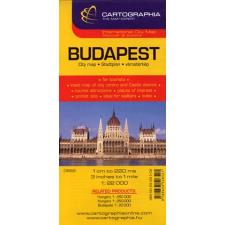 Cartographia Kft. BUDAPEST - CITY VÁROSTÉRKÉP /1:22000 térkép