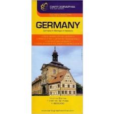 Cartographia Németország autótérkép Cartographia térkép
