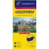 Cartographia Veszprém várostérkép (+Veszprém megye tkp.)