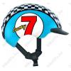 Casco Mini 2 Lucky 7 kerékpáros gyerek bukósisak kék S-es (52-56cm fejkerület)
