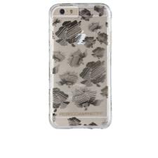 CASE-MATE iPhone 6/6S Rebecca Minkoff Tough hátlap, tok, átlátszó-virág mintás tok és táska