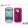 CASE-MATE Samsung i8190 Galaxy S III Mini hátlap - Case-Mate Glam - pink