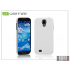 CASE-MATE Samsung i9500 Galaxy S4 hátlap - Case-Mate Barely There - white