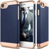 CASEOLOGY Caseology iPhone 7 (4.7'') Savoy Series hátlap, tok, sötétkék
