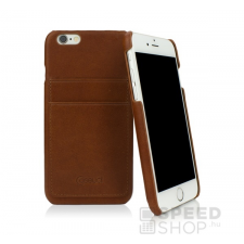 Caseual Leather Apple iPhone 6/6s Italian Brown bőr hátlap tok, barna tok és táska