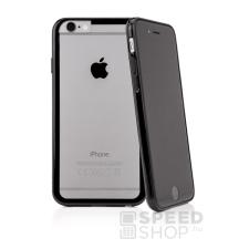 Caseual Outline Apple iPhone 6/6s hátlap tok, fekete-átlátszó tok és táska