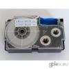 Casio XR-18WEB1 utángyártott feliratozószalag kazetta fehér alapon kék nyomtatás 18 mm * 8m