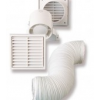 Cata Kit In-Line 100 Csőbe, csőközbe építhető ventilátor