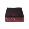 Cazo Paris bőr matrac kutyáknak - fekete - 110x90cm
