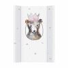 CEBA pelenkázó lap merev 2 oldalú 50x70cm Watercolor World Princess maci