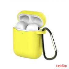 CELLECT Airpods szilikon tok, Sárga, 1.5mm audió kellék