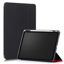 CELLECT Apple iPad 12.9 2020 tablet tok toll tartóval,Fekete tablet tok