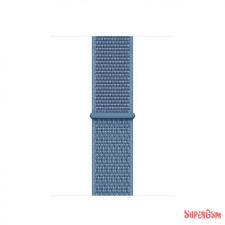 CELLECT Apple watch szövet óraszíj, 38/40 mm, Kék óraszíj