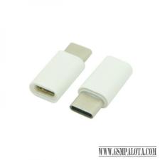 CELLECT Átalakító adapter MICRO USB-ről USB C-re audió/videó kellék, kábel és adapter