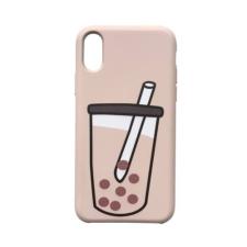 CELLECT Designe hátlap, iPhone X, Natur tok és táska