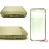 CELLECT iPhone 5/5S vékony hátlap+szilikon keret,Szürke