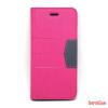 CELLECT iPhone SE oldalra nyiló tok, Pink