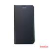 CELLECT iPhone XS flip oldalra nyiló tok, Fekete