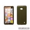 CELLECT Microsoft Lumia 950 vékony szilikon hátlap,Fekete