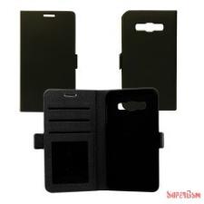 CELLECT Samsung Galaxy J1 Flip oldalra nyiló tok,Fekete tok és táska